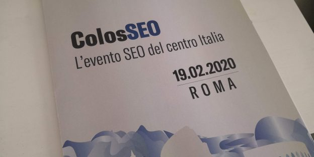 ColosSEO evento SEO Roma 2020