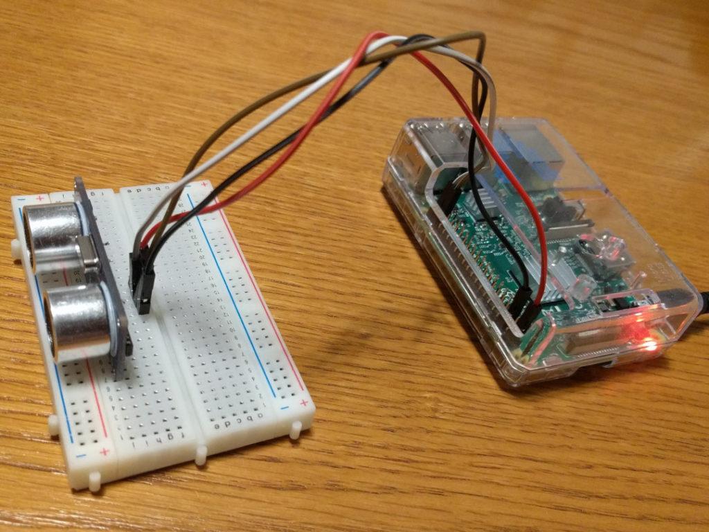 Raspberry Pi e sensore di distanza
